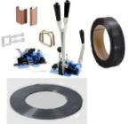 Vázací pásky, spony, odvíječe a páskovače na VP