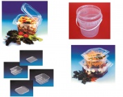 Jednorázové obaly na jídlo-plastové vaničky,  misky a kbelíky