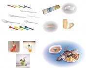 Jednorázové nádobí,  příbory a doplňky