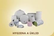Hygienické a čistící prostředky