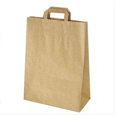 Papírová taška hnědá 32x12x41cm (80g/m2)