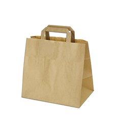 Papírová taška hnědá (na menubox) 32x21x27cm / 80g/m2