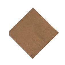 Sáček na HAMBURGER / KEBAB hnědý 16 x16cm / 71543