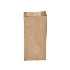 Papírový sáček (svačinový) hnědý 15+7x35cm (na 2,5 kg) / 70925
