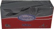Ubrousek 3-vrstvý červený 33x33cm / 87801