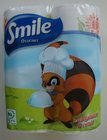 Papírová utěrka v roli (kuchyňská)  50 útržků SMILE