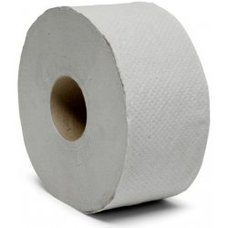 Toaletní papír JUMBO role / 1 vrstý / recykl šedý / prům. 19cm / návin 120m