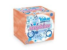 Ubrousek skládaný Value Bar oranžový 11x21 cm