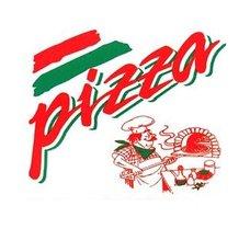 Pizza krabice - potisk kuchař 32x32x3cm - z vlnité lepenky / oblé hrany