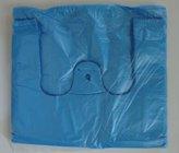 HDPE taška blok. č. 10  MODRÁ 30+18x55cm/ 10mikr.