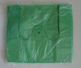 HDPE taška blok. č. 10  ZELENÁ 30+18x55cm/ 10mikr.