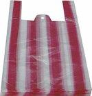 HDPE taška blok. č. 10 pruhy 30+18x55cm/ 9mikr.