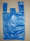 HDPE taška blok. č. 10 - modrá Silná 30+18x54cm/11mikr.