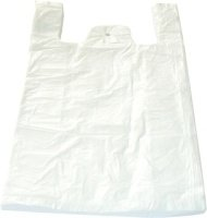 HDPE taška JUMBO č. 15 bílá 55x70cm/ 14mikr.