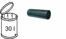 HDPE sáček na odpad černý - silný 50x60cm/9mikr. - 30l