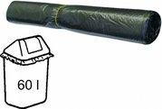HDPE sáček na odpad šedý 60x80cm/20my - 60l