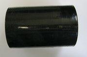 Fixační streč. fólie-ruční černá - s rukojetí š.12,5cm/23my/345g