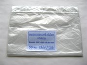 HDPE sáček k zamražení potravin 25x35cm/ 15mikr. - čirý EXTRA PEVNÝ