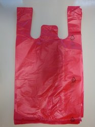 HDPE taška blok. č. 10 - červená  GRANITOL 30+18x54cm/11mikr.