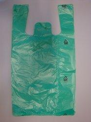 HDPE taška blok. č. 10 - zelená  GRANITOL 30+18x54cm/11mikr.
