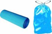 Pytel na odpad - modrý zatahovací 70x100cm/60my / 69700