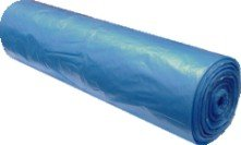 Pytel na odpad - modrý  70x110cm/20my