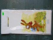 PE taška průhmat velikonoční - Zajíc 18x40cm