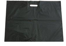 PE taška průhmat černá 75x60+5cm