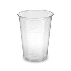 Kelímek na nápoje (PP) průhledný 400 ml / 73214