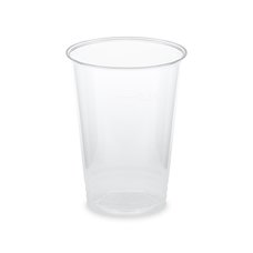 Kelímek na nápoje BIO průhledný 300 ml (PLA) prům. 84mm /76313