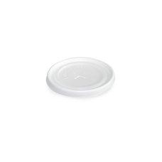 Víčko (PS) s křížovým otvorem bílé prům. 85mm / 75914 - DOPRODEJ