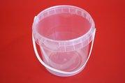 Kbelík PP 580 ml - transparentní