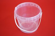 Kbelík PP 2,3l - transparentní 2300 ml