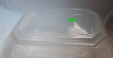 Vanička průhledná s integr. víčkem (PP) 1250ml - DOPRODEJ