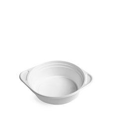 Miska na polévku ECONOMY bílá PP 500ml / 73640  (do mikrovlné trouby)