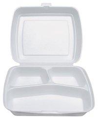 Menu box 3-dílný, XPS (125ks) 247x198x75mm