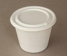 Kelímek na polévku s víčkem (cukrová třtina) 425ml