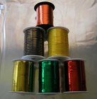 Stuha barevná metal. 0,5cm/250y