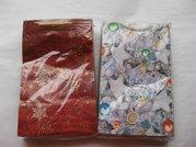 Dárková taška papír. vánoční - A 5 16x27cm
