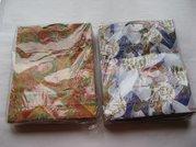 Dárková taška papír. vánoční - A 8 25x27cm
