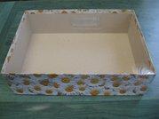Dárková krabice s průhl. víkem 28x39x10cm