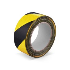 Lepící páska žlutočerná  50mm/66m