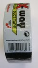 Lepící páska černá s vodící tkaninou 50mm/50m - EXTRA
