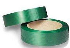 Vázací páska PET zelená 15x0,80mm/1500m/d406