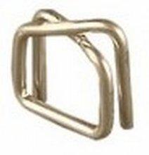 Spona drátová pro váz. pásku 19mm (19x4mm) galvanická - BG6